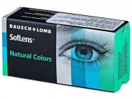 Bausch and Lomb - лещи за очи, разтвори и капки - SofLens Natural Colors - недиоптрични (2 леща)