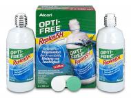 Разтвор за контактни лещи Opti-FREE - Разтвор OPTI-FREE RepleniSH 2x300мл