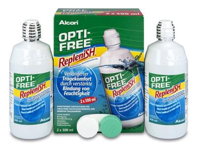 Разтвор OPTI-FREE RepleniSH 2x300ml  - По-старт дизайн