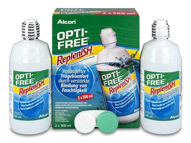 Разтвор OPTI-FREE RepleniSH 2x300мл
