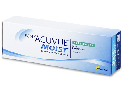 1 Day Acuvue Moist Multifocal (30 лещи)