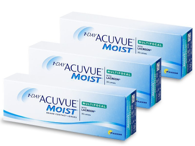 1 Day Acuvue Moist Multifocal (90 лещи)