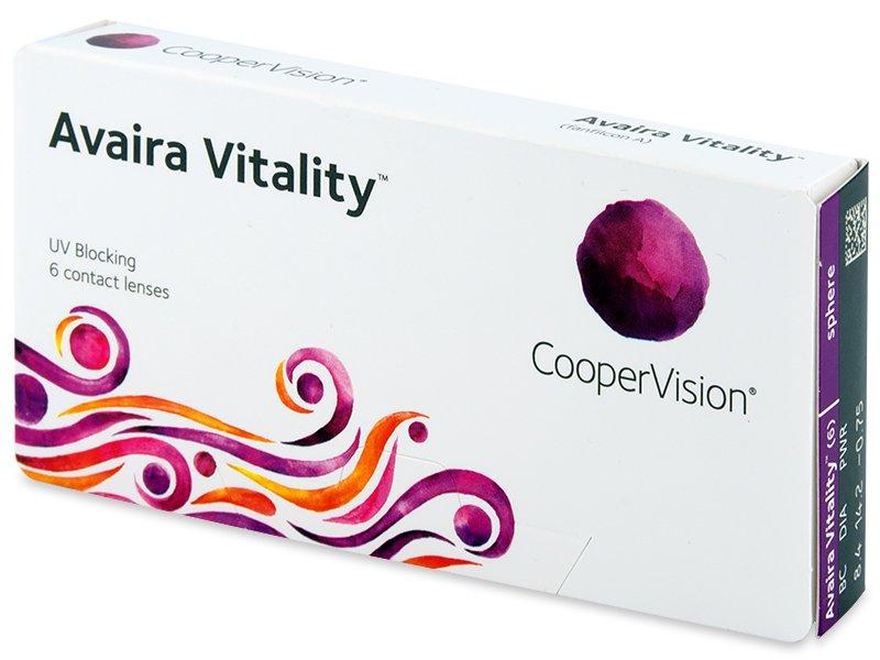 Avaira Vitality (6 лещи) - Contact lenses