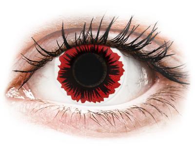 ColourVUE Crazy Lens - Blaze - без диоптър (2 лещи)