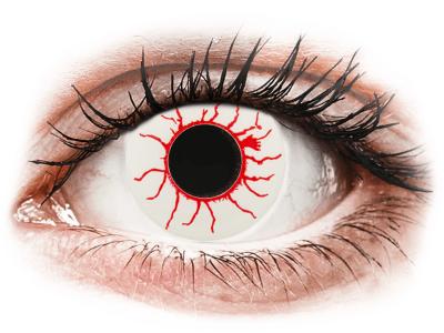 CRAZY LENS - Red Viper - дневни без диоптър (2 лещи)