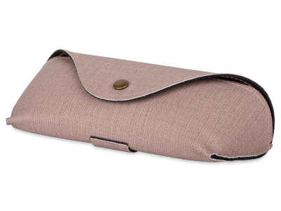 Розов калъф за съхранение на очила SH224-1