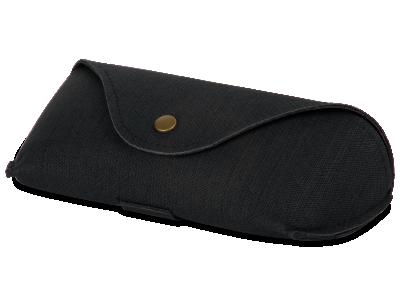Черен калъф за съхранение на очила SH224-1
