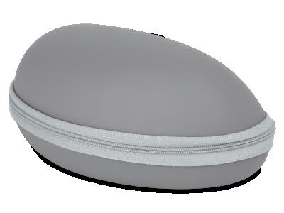 Сив калъф за съхранение на очила BL031