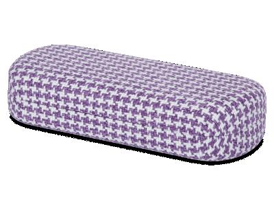 Калъф за съхранение  в бяло и лилаво