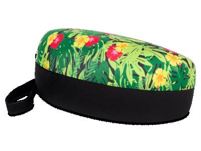 Калъф с флорален дизайн за очила