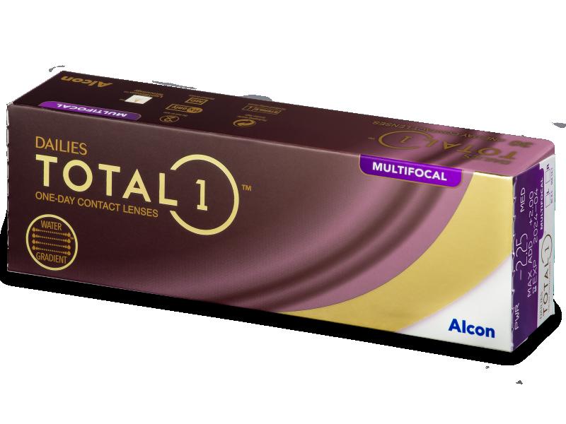 Dailies TOTAL1 Multifocal (30 лещи) - Мултифокални лещи