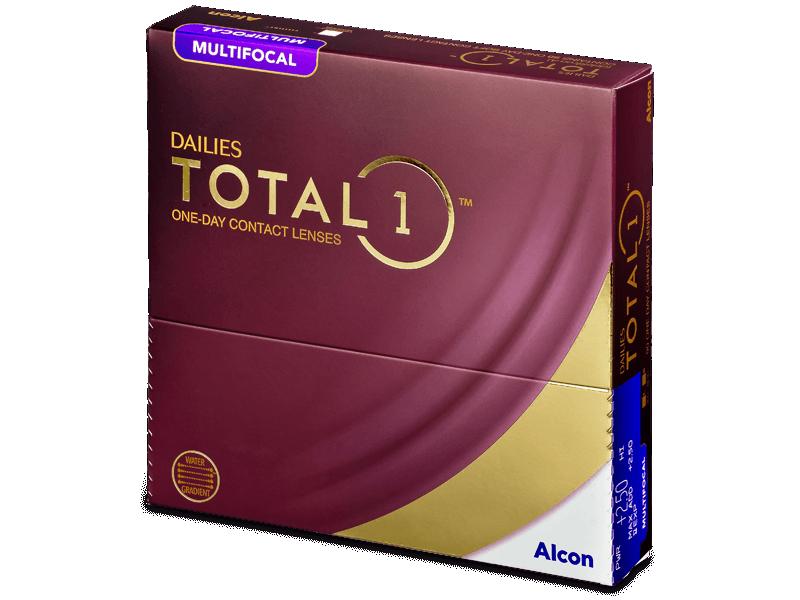 Dailies TOTAL1 Multifocal (90 лещи) - Мултифокални лещи