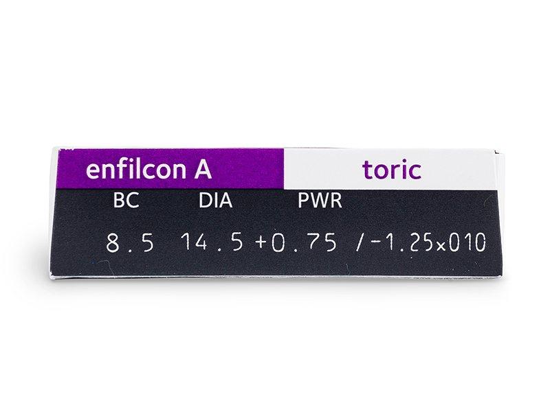 Avaira Toric (3 лещи) - Преглед на параметри