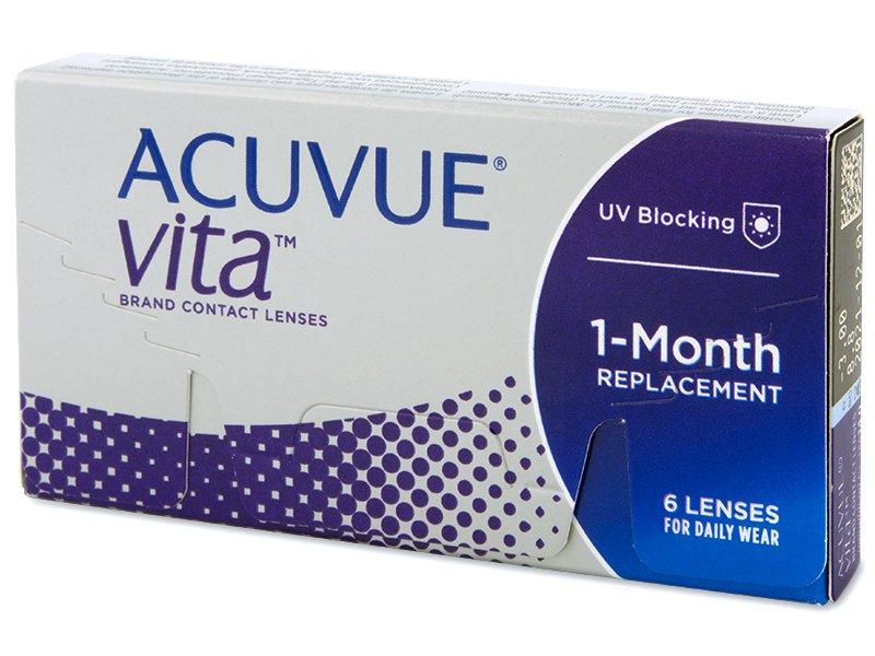 Acuvue Vita (6 лещи) - Месечни контактни лещи