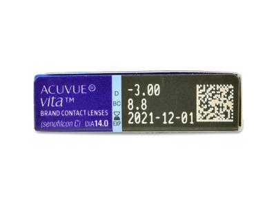 Acuvue Vita (6 лещи) - Преглед на параметри