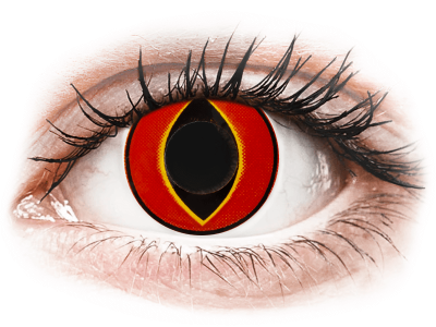 ColourVUE Crazy Lens - Mad Frog - без диоптър (2 лещи)