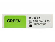 TopVue Color Daily - с диоптър (10лещи) - Преглед на параметри
