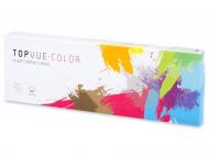 Дневни контактни лещи - TopVue Color Daily - с диоптър (10лещи)