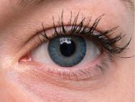 TopVue Color Daily - с диоптър (10лещи) - Blue on grey eye
