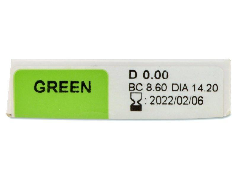 TopVue Color Daily - без диоптър (10лещи) - Преглед на параметри