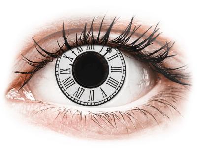 CRAZY LENS - Clock - дневни без диоптър (2 лещи)
