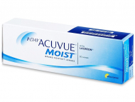 Лещи за очи Johnson and Johnson. Онлайн оптика - 1 Day Acuvue Moist (5 лещи)