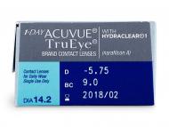 1 Day Acuvue TruEye (30лещи) - Преглед на параметри
