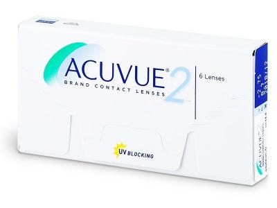 Acuvue 2 (6лещи) - Двуседмични контактни лещи