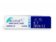 Acuvue 2 (6лещи) - Преглед на параметри