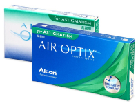Air Optix for Astigmatism (3 лещи) - Торични лещи