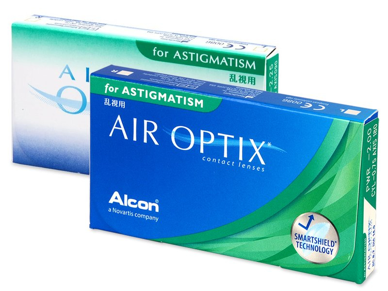 Торични лещи - Air Optix for Astigmatism (3 лещи)