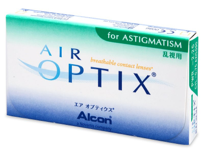 Air Optix for Astigmatism (3 лещи) - По-старт дизайн