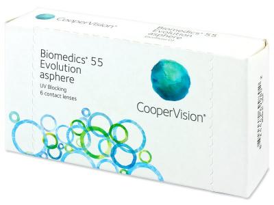 Biomedics 55 Evolution (6лещи) - Месечни контактни лещи