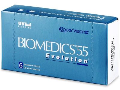 Biomedics 55 Evolution (6лещи) - По-старт дизайн