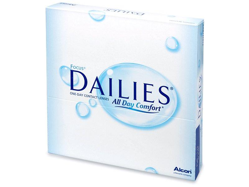 Focus Dailies All Day Comfort (90лещи) - Еднодневни контактни лещи