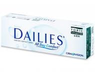 Торични контактни лещи за коригиране на астигматизъм - Focus Dailies Toric (30лещи)