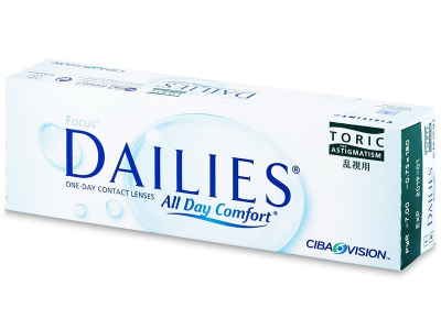 Focus Dailies Toric (30лещи)