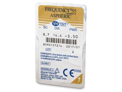 Frequency 55 Aspheric (6лещи) - Преглед на блистер