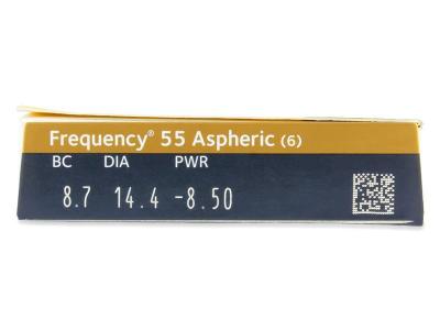 Frequency 55 Aspheric (6лещи) - Преглед на параметри