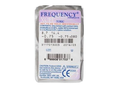 FREQUENCY XCEL TORIC (3лещи) - Преглед на блистер