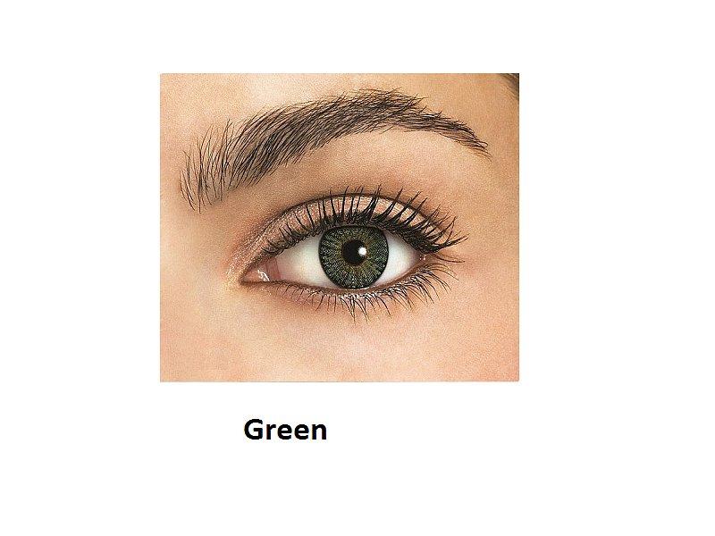 FreshLook ColorBlends - диоптрични (2лещи) - Зелено