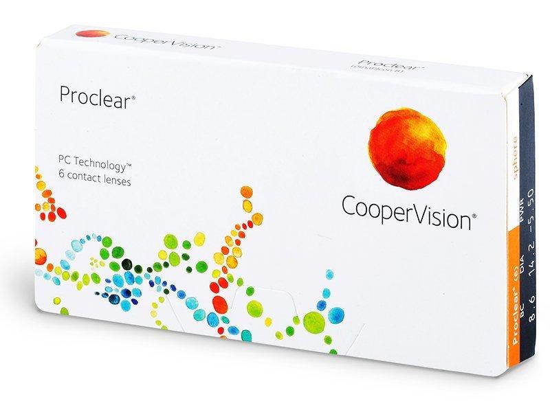 Proclear Sphere (6лещи) - Месечни контактни лещи