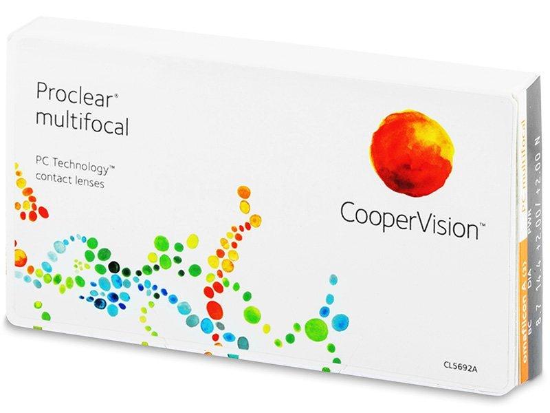 Proclear Multifocal (3лещи) - Мултифокални лещи