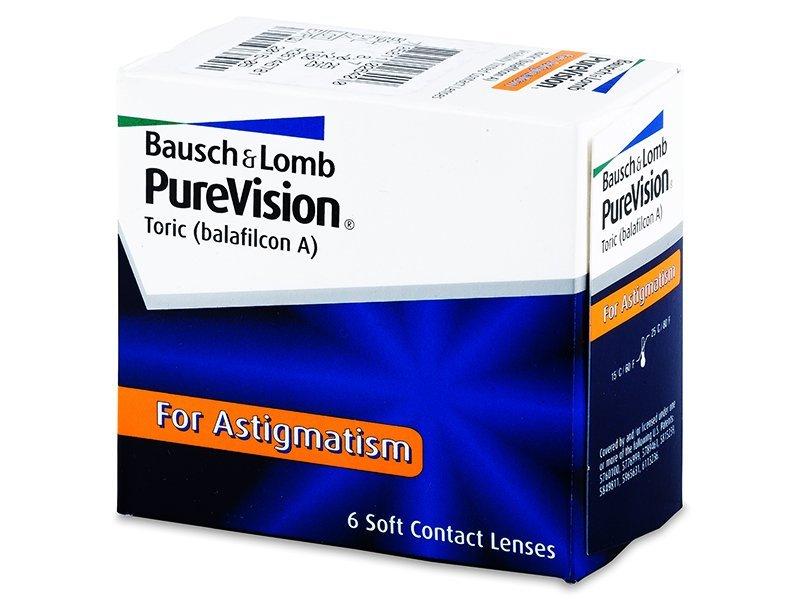 PureVision Toric (6лещи) - Торични лещи