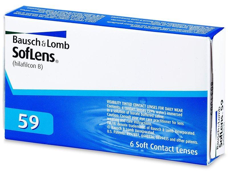 SofLens 59 (6лещи) - Месечни контактни лещи
