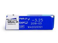 SofLens 59 (6лещи) - Преглед на параметри