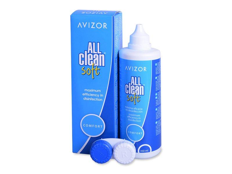 Avizor All Clean Soft разтвор 350 ml  - Разтвор за почистване