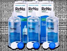 Разтвор ReNu MultiPlus 3 x 360 ml  - Икономичен пакет 3 разтвора