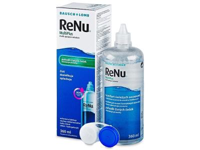 Разтвор за почистване - Разтвор ReNu MultiPlus 360ml с контейнерче