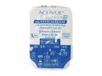 Acuvue Oasys for Astigmatism (6лещи) - Преглед на блистер